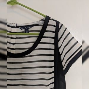 American Eagle Open Back Striped Too